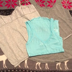 3 tank tops 2 medium 1 small